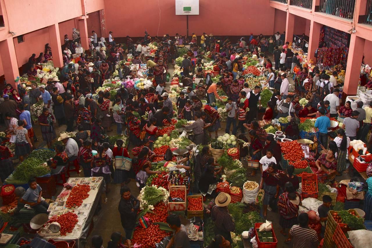 Chichicastenango Mayan Market