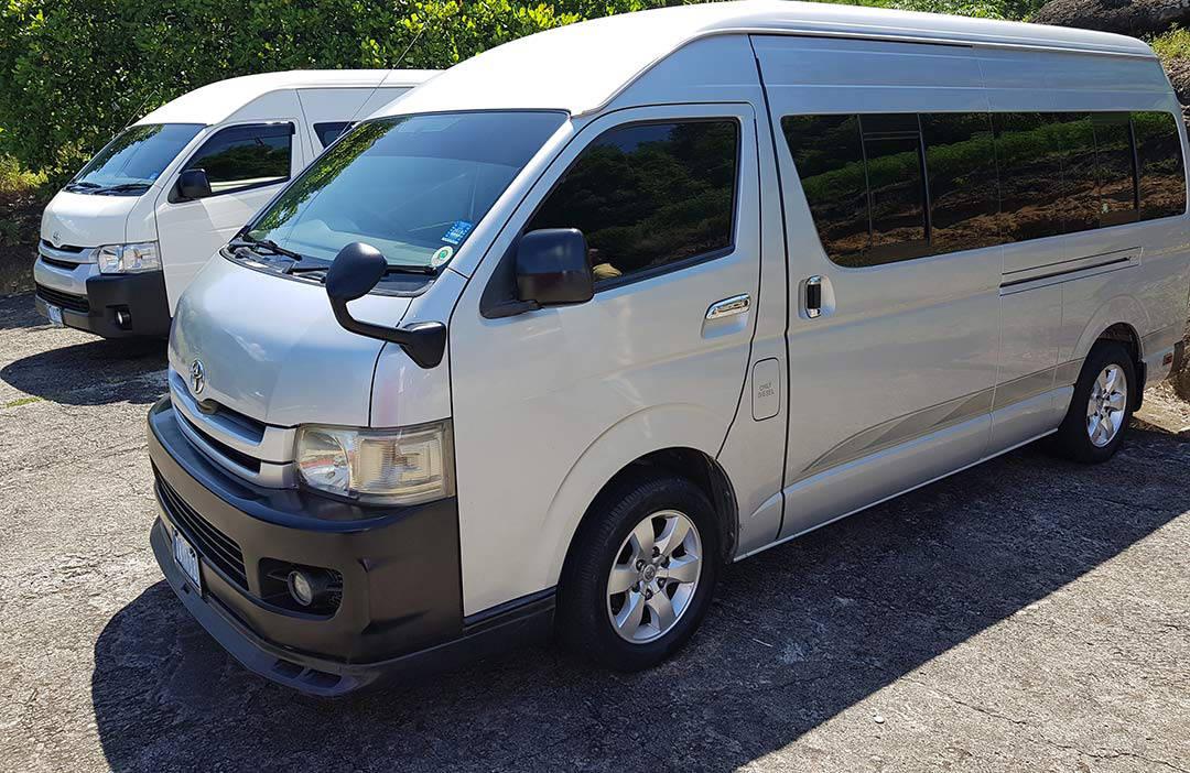 Transportation from Antigua to La Aurora International Airport